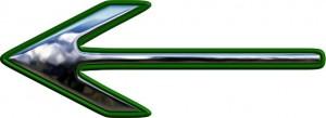 arrow-dark-green-large