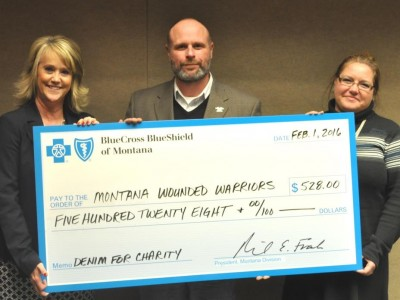 Blue Cross Blue Shield Employee Donation