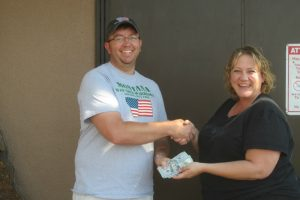 Raffle Winners August 27, 2016