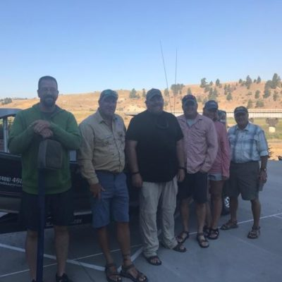 Missouri River Fishing 2017